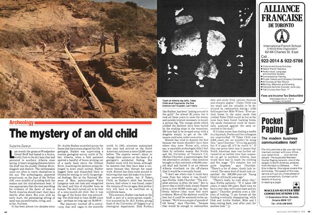 Article Preview: The mystery of an old child, September 1979 | Maclean's