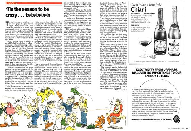 Article Preview: 'Tis the season to be crazy . . . fa-la-la-la-la, September 1979 | Maclean's
