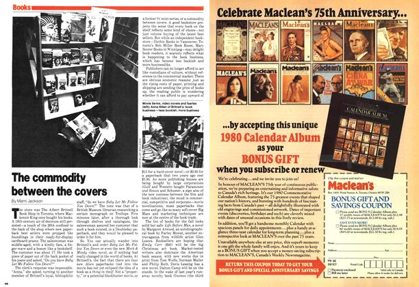 Article Preview: The commodity between the covers, September 1979 | Maclean's