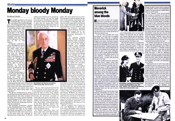 Article Preview: Maverick among the blue bloods, September 1979 | Maclean's