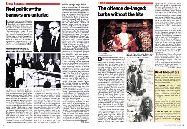 Article Preview: The offence de-fanged: barbs without the bite, September 1979 | Maclean's