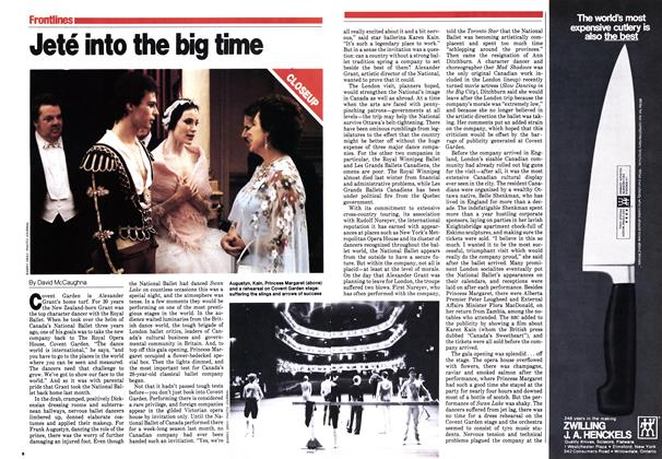Article Preview: Jeté into the big time, September 1979 | Maclean's