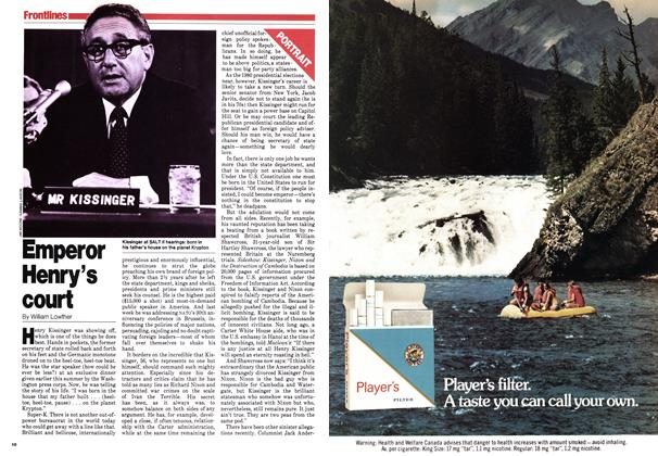 Article Preview: Emperor Henry's court, September 1979 | Maclean's
