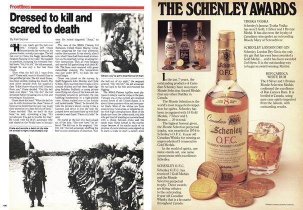 Article Preview: Dressed to kill and scared to death, September 1979   Maclean's