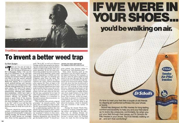 Article Preview: To invent a better weed trap, September 1979 | Maclean's