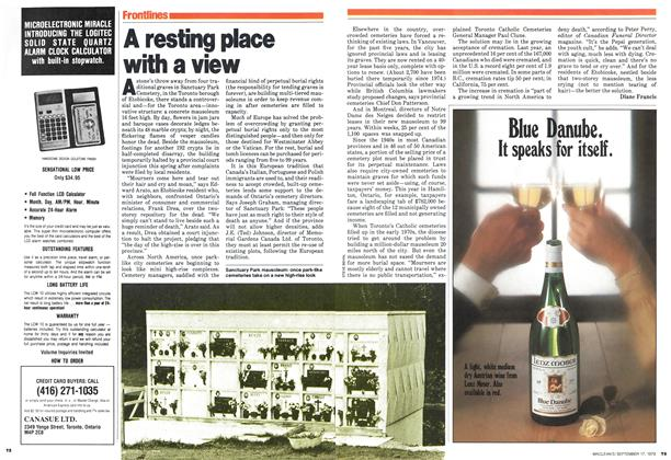 Article Preview: A resting place with a view, September 1979 | Maclean's