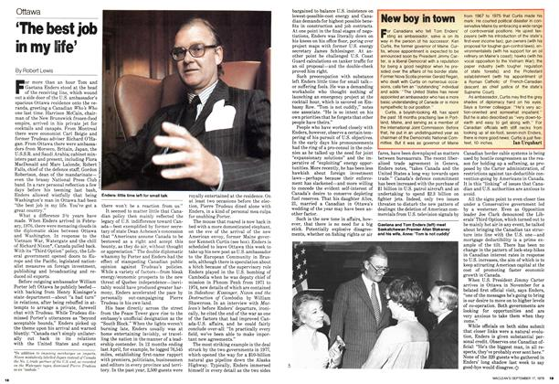 Article Preview: 'The best job in my life', September 1979 | Maclean's