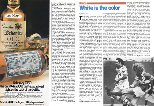 Article Preview: White is the color, September 1979 | Maclean's