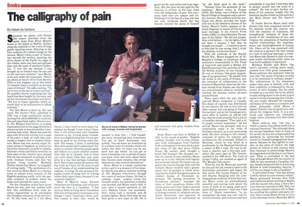 Article Preview: The calligraphy of pain, September 1979 | Maclean's
