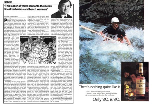 Article Preview: 'This leader of youth sent onto the ice his finest barbarians and bench warmers', September 1979 | Maclean's