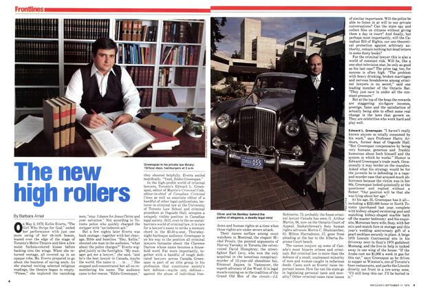 Article Preview: The new high rollers, September 1979 | Maclean's