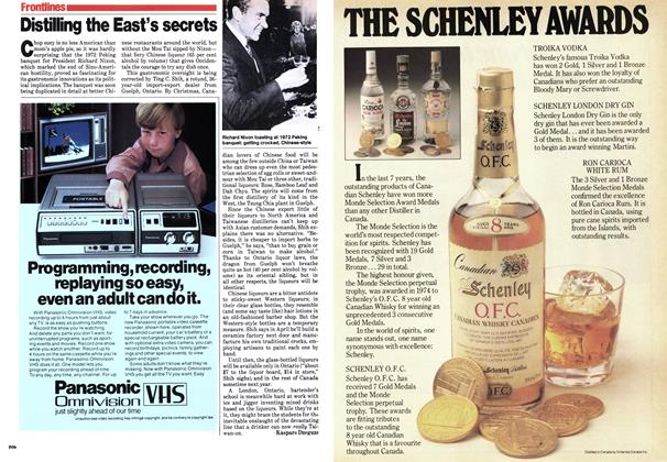 Article Preview: Distilling the East's secrets, September 1979 | Maclean's