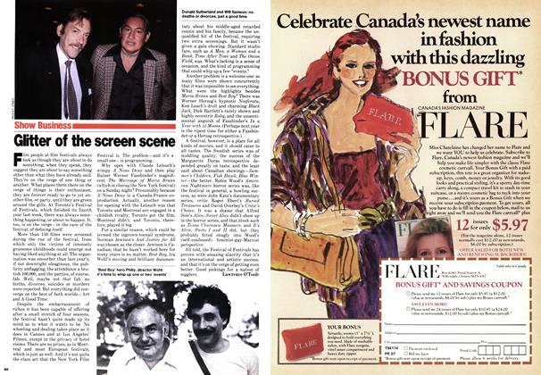 Article Preview: Glitter of the screen scene, September 1979 | Maclean's