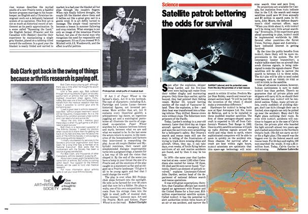 Article Preview: Satellite patrol: bettering the odds for survival, September 1979 | Maclean's