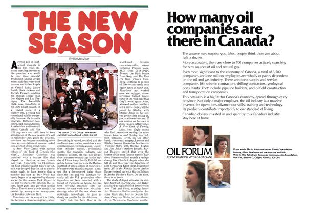 Article Preview: THE NEW SEASON, September 1979 | Maclean's