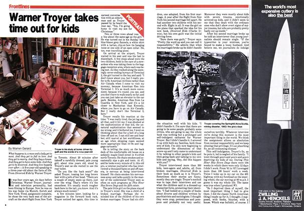 Article Preview: Warner Troyer takes time out for kids, September 1979 | Maclean's