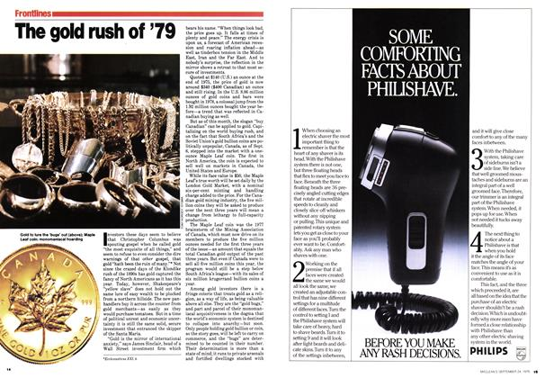 Article Preview: The gold rush of '79, September 1979 | Maclean's