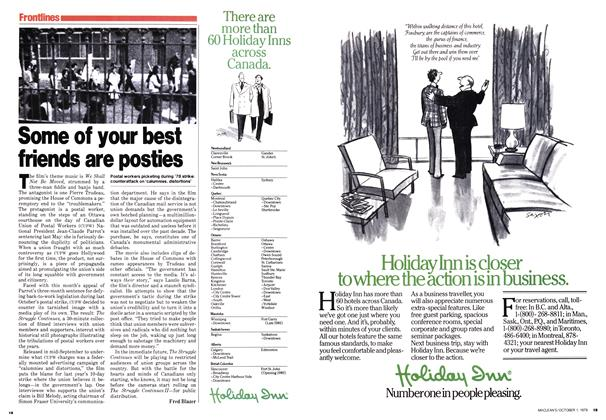 Article Preview: Some of your best friends are posties, October 1979 | Maclean's