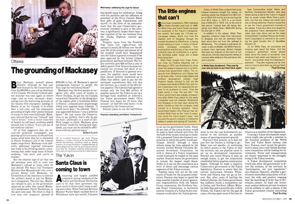Article Preview: The grounding of Mackasey, October 1979 | Maclean's