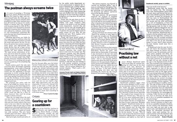 Article Preview: Practising law without a net, October 1979 | Maclean's