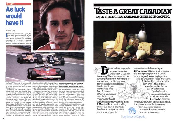 Article Preview: As luck would have it, October 1979 | Maclean's