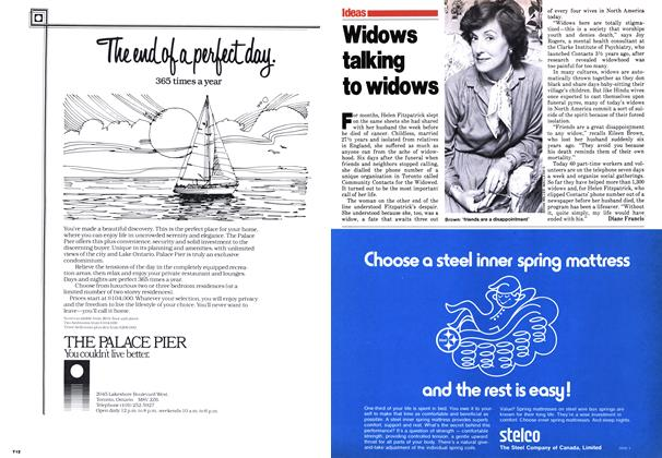 Article Preview: Widows talking to widows, October 1979 | Maclean's