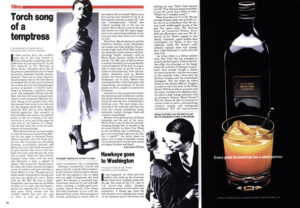 Article Preview: Torch song of a temptress, October 1979 | Maclean's