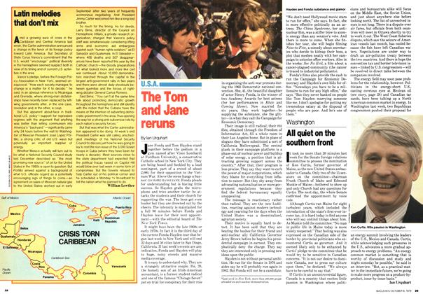 Article Preview: Latin melodies that don't mix, October 1979 | Maclean's