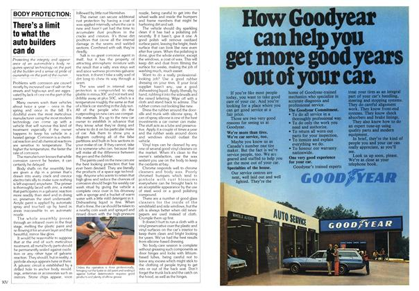 Article Preview: There's a limit to what the auto builders can do, October 1979 | Maclean's
