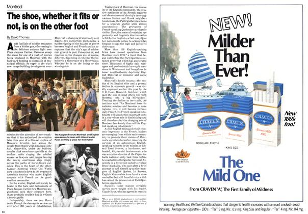 Article Preview: The shoe, whether it fits or not, is on the other foot, October 1979 | Maclean's
