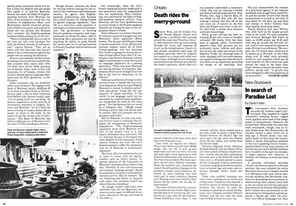 Article Preview: In search of Paradise Lost, October 1979 | Maclean's