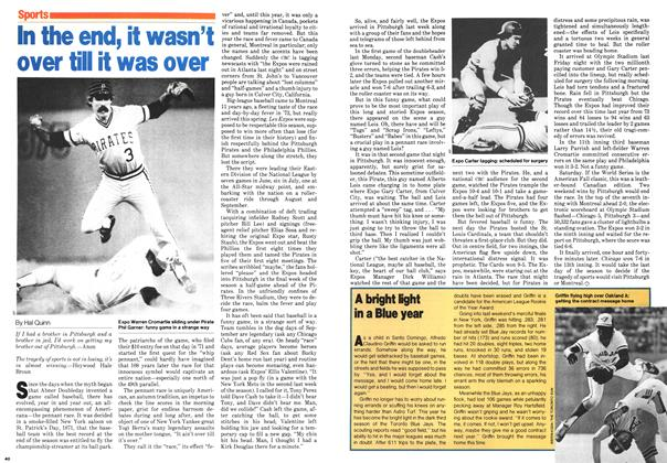 Article Preview: In the end, it wasn't over till it was over, October 1979 | Maclean's