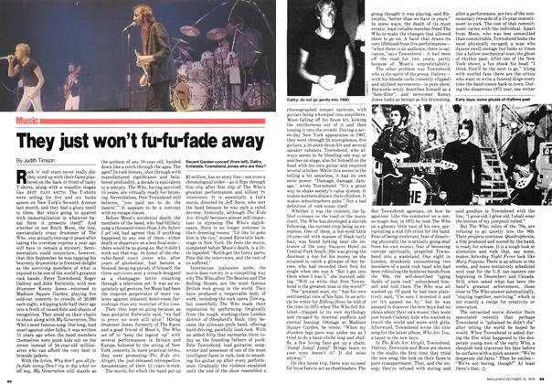 Article Preview: They just won't fu-fu-fade away, October 1979 | Maclean's