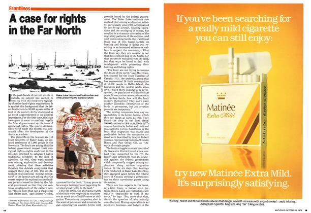 Article Preview: A case for rights in the Far North, October 1979 | Maclean's