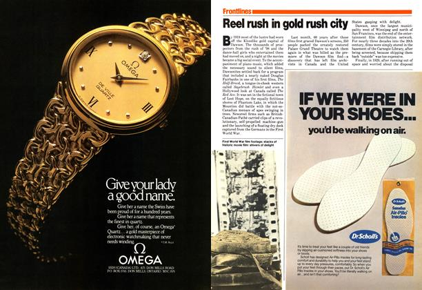 Article Preview: Reel rush in gold rush city, October 1979 | Maclean's