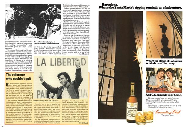 Article Preview: The reformer who couldn't quit, October 1979 | Maclean's