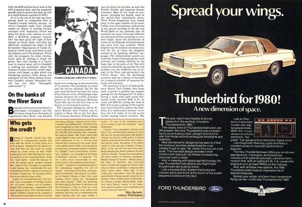 Article Preview: Who gets the credit?, October 1979 | Maclean's