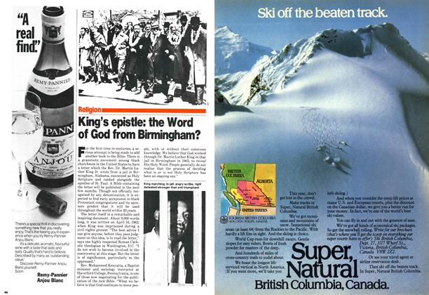 Article Preview: King's epistle: the Word of God from Birmingham?, October 1979   Maclean's