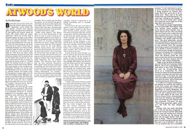 Article Preview: ATWOOD'S WORLD, October 1979 | Maclean's
