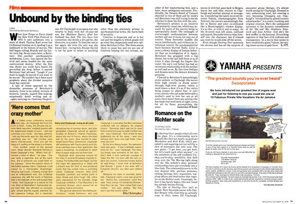 Article Preview: Unbound by the binding ties, October 1979 | Maclean's