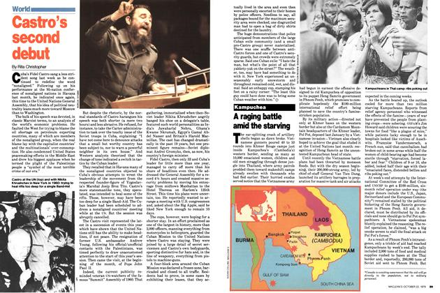 Article Preview: Castro's second debut, October 1979 | Maclean's