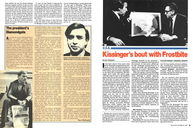 Article Preview: The president's Diamondgate, October 1979 | Maclean's