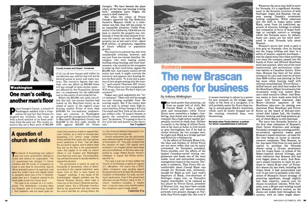 Article Preview: One man's ceiling, another man's floor, October 1979 | Maclean's