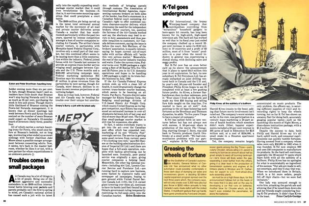 Article Preview: K-Tel goes underground, October 1979 | Maclean's