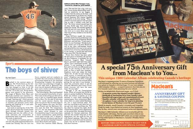 Article Preview: The boys of shiver, October 1979 | Maclean's