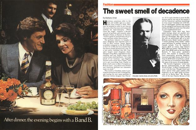 Article Preview: The sweet smell of decadence, October 1979 | Maclean's
