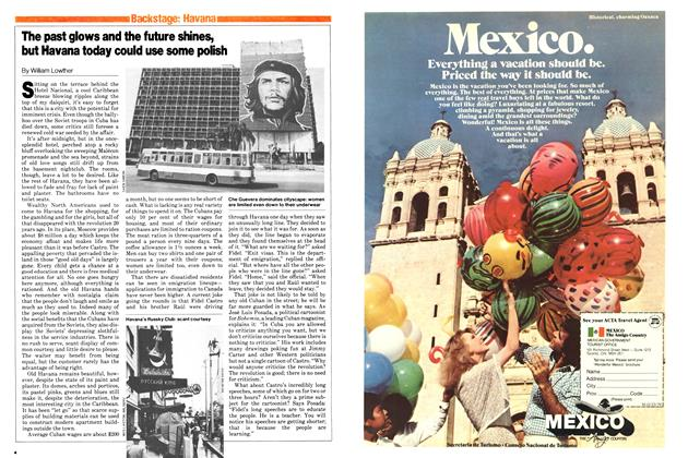 Article Preview: The past glows and the future shines, but Havana today could use some polish, October 1979 | Maclean's