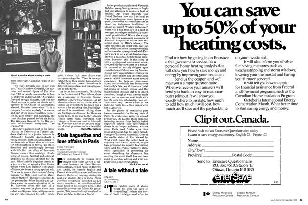 Article Preview: A tale without a tale, October 1979 | Maclean's