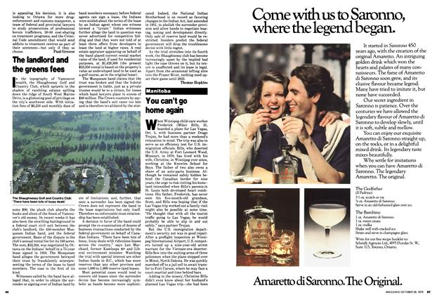 Article Preview: You can't go home again, October 1979   Maclean's