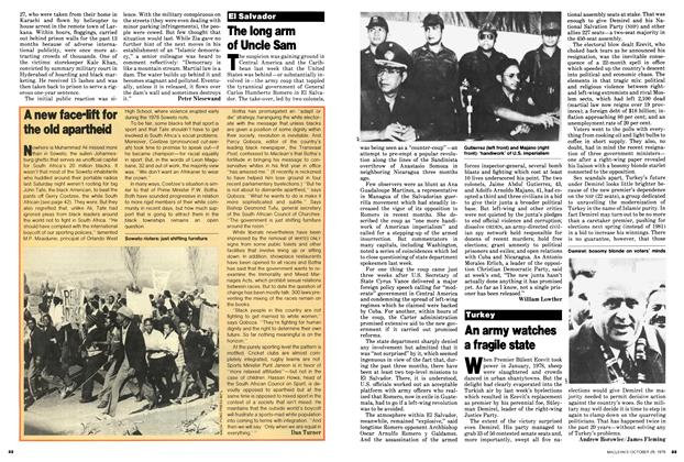 Article Preview: An army watches a fragile state, October 1979 | Maclean's
